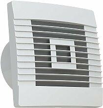 Lüfter Badlüfter Ventilator mit Jalousie mit Nachlaufrelais Ø 100, 120, 150 mm Prestige (Ø 100)