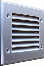 Lüftungsgitter Aluminium eloxiert 200 x 200mm incl. Insektenschutz