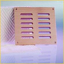 Lüftungsgitter aus Holz - 140x127x17 mm