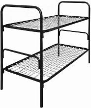 Lüllmann Stahlrohr Etagenbett Metall Bett 200x90