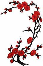 LUFA Pflaumenblüte Flower Patch Blume Applique