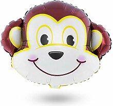 Luftballon AFFE Heliumballon Tiermotiv Tiere