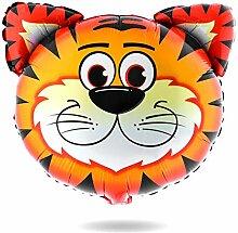 Luftballon Tiger Heliumballon Tiermotiv Tiere