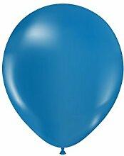 Luftballons 50 Stück, Durchmesser: 30cm, aus Naturlatex in verschiedenen Farben, bunte Ballons sind ideal für die nächste Hochzeit, Party, Kindergeburtstag, Dekoration, Festival, Feier; hergestellt in der EU und biologisch abbaubar - Helium geeigne