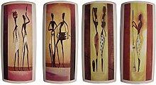 Luftbefeuchter 4-teiliges Set aus Keramik SAHARA