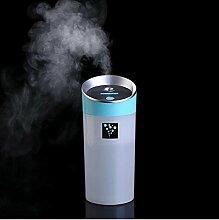 Luftbefeuchter Aromatherapie / 300ml / Ultraschall Zerstäubung / Negativ-Ionen-/USB / power Supply / ultra leise Strahlung / langfristige Befeuchtung / home / Office / Tasse / andere Mini Luftbefeucht , blue