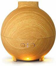 Luftbefeuchter Aromatherapie Maschine Ultraschall Aroma Licht Mini Stecker Die Aroma Ofen Holz Befeuchter Aromatherapie-Maschine ( Farbe : A )