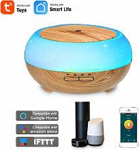 Luftbefeuchter Aromatherapie Tuya WIFI USB Frisbee