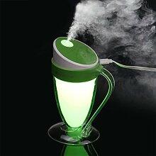 Luftbefeuchter, BZLine® Mini Portable USB Luftbefeuchter Aromatherapie Reiniger Diffusor (Grün)