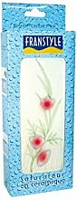Luftbefeuchter, flach, Keramik, Décor: Blumen