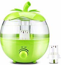 Luftbefeuchter grün 4L25W hause stumm schlafzimmer große kapazität schwangere frauen mini klimaanlage reinigungsluft reinigerlänge 11 * breite 9,4 * breite 9,4 zoll