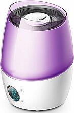 Luftbefeuchter home lila 4,5L25W große kapazität ruhigen schlafzimmer kleine schwangere frauen mini air smart timing aromatherapie maschine