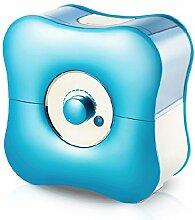 Luftbefeuchter home schlafzimmer stumm wasserlilie blau 2L30W negative sauerstoffionen ultraschallreinigung büro große kapazitä