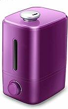 Luftbefeuchter home stumm große kapazität lila 4.5L büro schlafzimmer air aromatherapie maschine