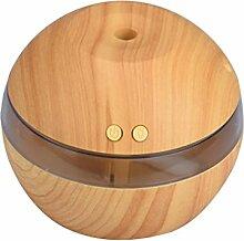 Luftbefeuchter - Kingwo Air Aroma Essential Oil Diffuser LED Ultraschall-Aroma Aroma Luftbefeuchter(Khaki)