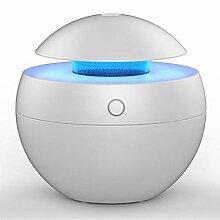 Luftbefeuchter Luftbefeuchter Mini Aromatherapie Diffusoren verbessert Gesundheit Home Car Office (17 * 12cm) (Color : Light wood grain)