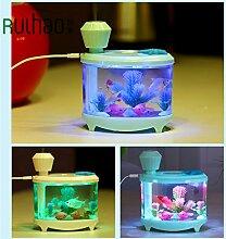 Luftbefeuchter, Luftreiniger Luftbefeuchter Luftbefeuchter Aquarium, Ultra Luftreiniger D Atomisierung Mute Pink