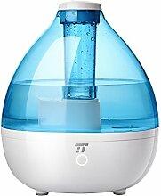 Luftbefeuchter Schlafzimmer Baby TaoTronics 2,3 L Luftbefeuchter Ultraschall mit kaltem Nebel für Zimmer bis zu 30㎡, Leichter & Intensiver Nebel, Schlafmodus, ohne Filter und leise, BPA frei