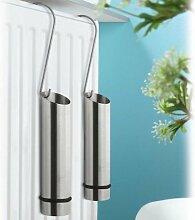 Luftbefeuchter-Set Edelstahl 2 Stück - passend für alle gängigen Heizkörper