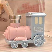 Luftbefeuchter USB Mini Retro Lokomotive Auto Aromatherapie Home Office , Pink