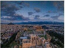 Luftbild Akropolis Athen Tempel - 500 Puzzles für