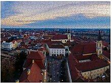 Luftbild über Old Downtown - 500 Puzzles für