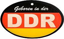 Lufterfrischer DDR schwarz rot gold in Duftnote Wald ++ DAS Ostprodukte Geschenk – DDR Traditionsprodukt und Ossi Kultprodukt – Geschenkidee für alle Ostalgiker aus Ostdeutschland vom Ostprodukte Experten – Ostpaket mit DDR Klassiker – Ideal für jedes DDR Geschenkset ++ GRATIS: Zu jeder Lieferung erhalten Sie immer genau die hier angezeigte DDR Geschenkkarte (copyright Ostprodukte-Versand) !! ++
