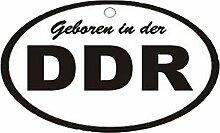 Lufterfrischer DDR weiß schwarz in Duftnote Rose