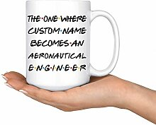 Luftfahrtingenieur Kaffeetasse Luftfahrtingenieur
