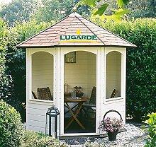 Lugarde Holzpavillon Andrea aus Fichtenholz NEU
