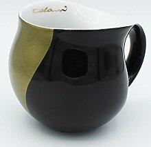 Luigi Colani Tasse ab ovo color Kaffeetasse& Untertasse