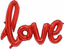 Lukis Love Buchstaben Ballons für Hochzeit
