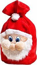 Lukis Weihnachtsmann Sack Jutesack Geschenksack