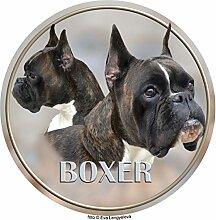 LUKKA Boxer Aufkleber 25 cm