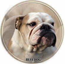 LUKKA Bulldog Aufkleber 15 cm