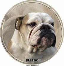 LUKKA Bulldog Aufkleber 25 cm