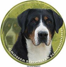 LUKKA Grosser Schweizer Sennenhund Aufkleber 25 cm