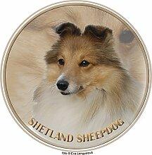 LUKKA Shetland Sheepdog Aufkleber 25 cm