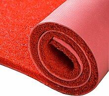 LULU Großer roter Dicker Teppich, willkommenes
