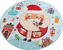 LULU Moderne minimalistische Runde Cartoon Santa