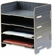 LULUDP Ordner Creative Wooden Office Supplies