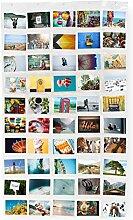 Lumaland Fotovorhang Collage für Bilder und