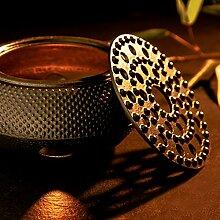 Lumaland Stövchen aus Gusseisen Teewärmer