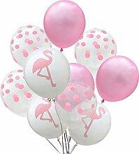 Lumanuby 10x Tropisch Thema Luftballon von