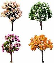 Lumanuby – 3Miniatur-Baum-Modelle,