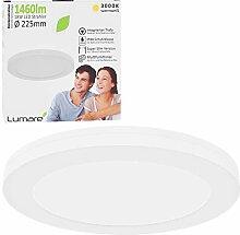 Lumare LED Deckenleuchte 18W Extra Flach rund