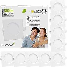 Lumare LED Einbaustrahler Dimmbar 6W 360lm 230V
