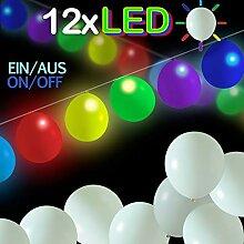 LumeeStar bunt blinkende Luftballons Led mit