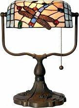 Lumilamp 5LL-1144 Bankerlampe/Burolampe Tiffany