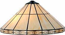 LumiLamp 5LL-3088 Tiffany Stil Lampenschirm Buntes